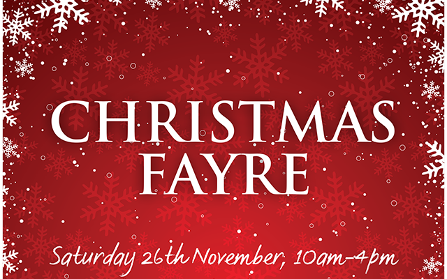 Christmas Fayre Application Form