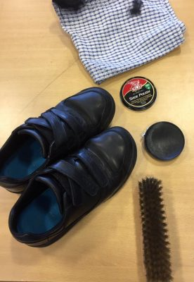Shoe Shining Fundraiser for Thailand Orphanage