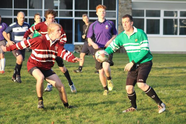Teachers v Senior Students – Touch Rugby