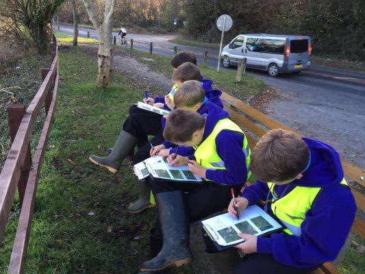 Outdoor Classroom for our Junior Geographers