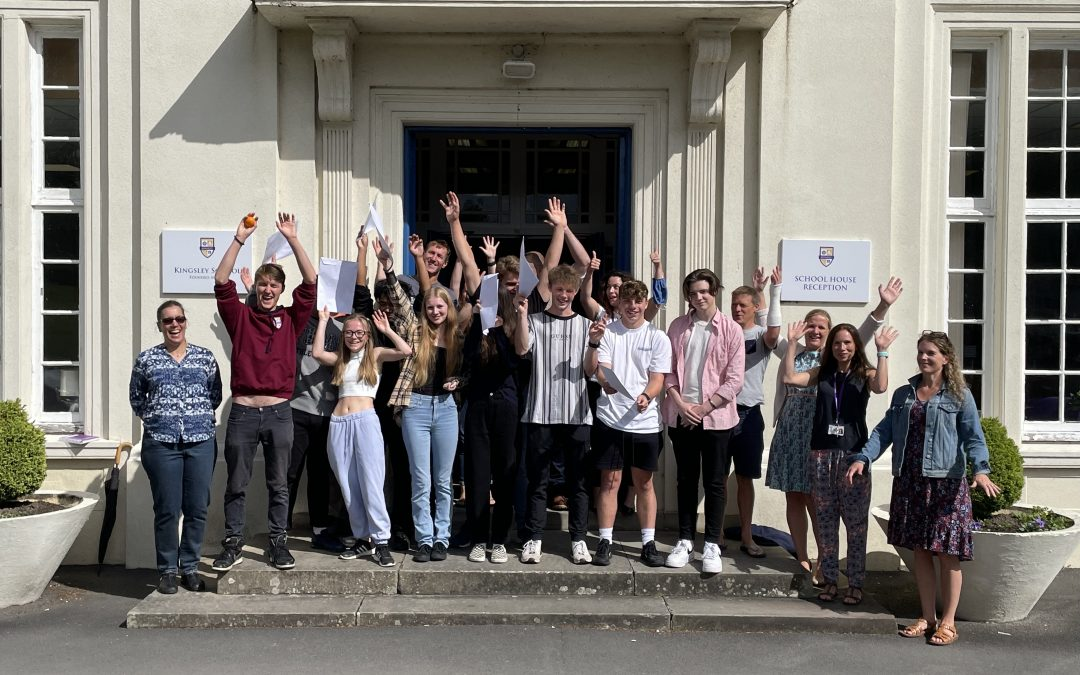 Outstanding A level and Vocational results at Kingsley School Bideford