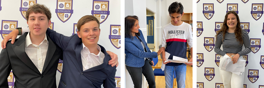 Kingsley students excel in their GCSE results